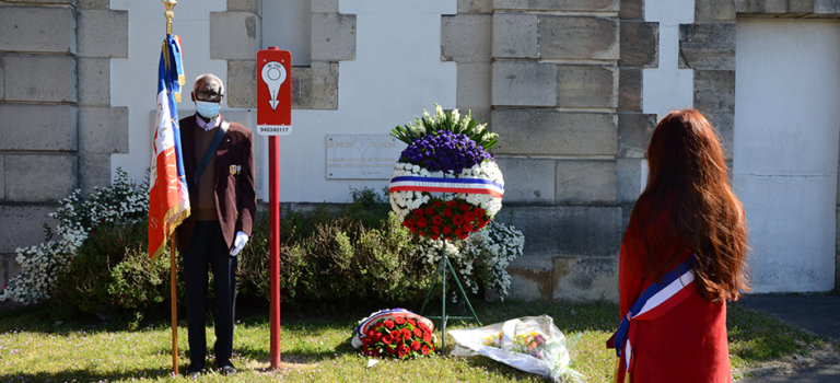 """Retour en images sur """"Parcours de la mémoire : deux nouveaux pupitres à Fresnes"""""""