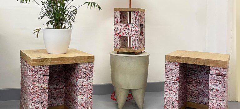 Du masque au pied de lampe, le recyclage s'organise en Ile-de-France