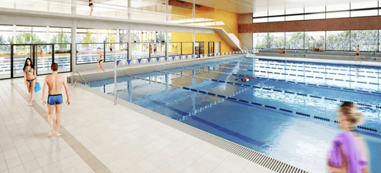 Vitry-sur-Seine: la nouvelle piscine ouvrira à l'été 2022
