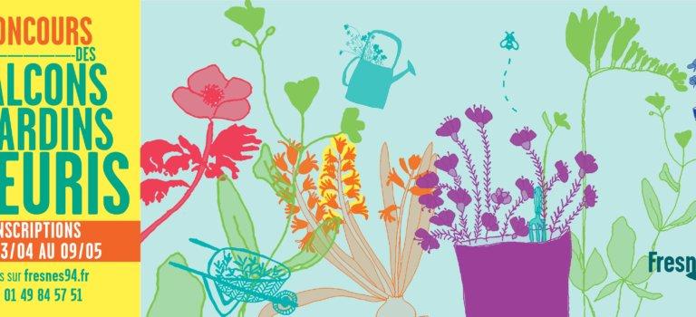 Un concours pour fleurir Fresnes