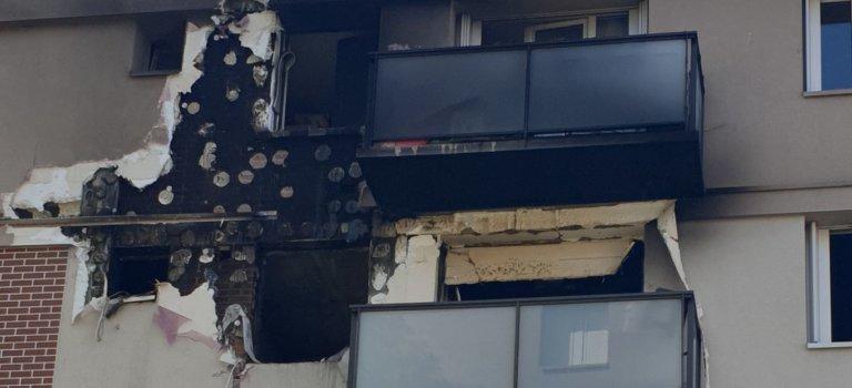 Après l'incendie à Arcueil: sinistrés en colère et polémique politique
