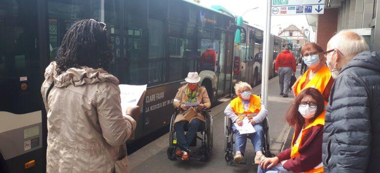 Transports et handicap: de la difficulté d'être visible en gare de Saint-Maur Créteil