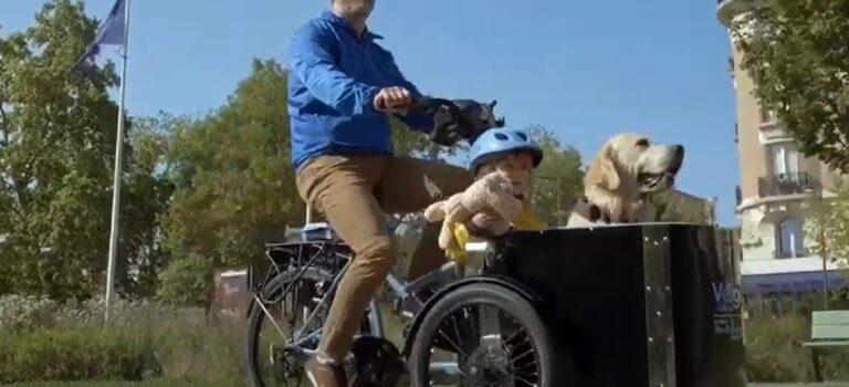 Véligo passe à la location de vélos-cargo en Ile-de-France