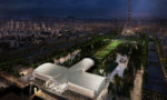 Paris: un Grand Palais en bois au pied de la tour Eiffel