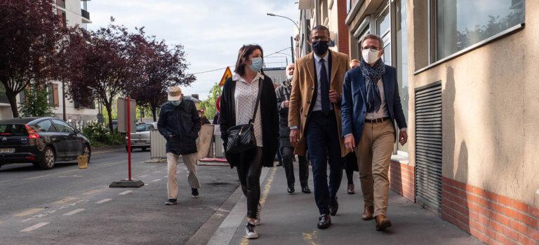 Départementales à Saint-Ouen: on refait le match des municipales
