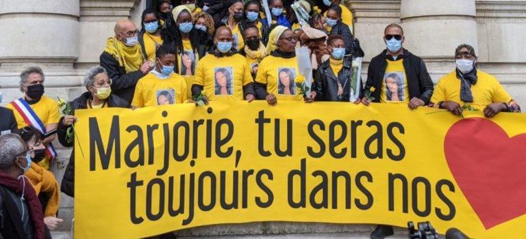 Ivry-sur-Seine: près d'un millier de personnes ont marché pour Marjorie