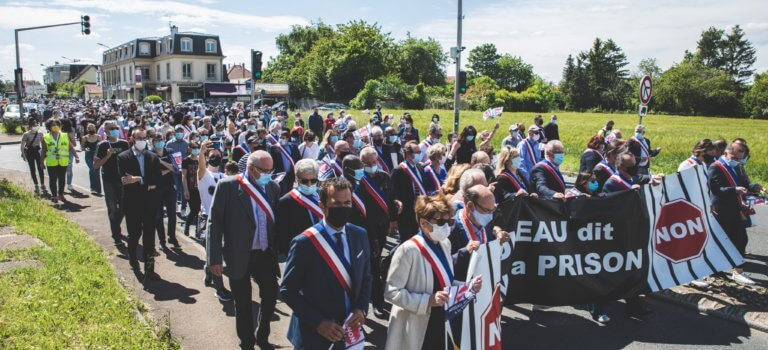 L'union -presque- sacrée des élus du Val-de-Marne contre une prison à Noiseau