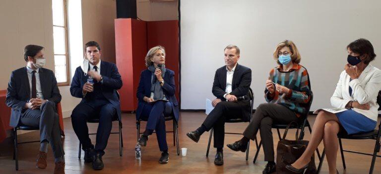 Programme: Valérie Pécresse et Olivier Capitanio défendent un combo régionales-départementales