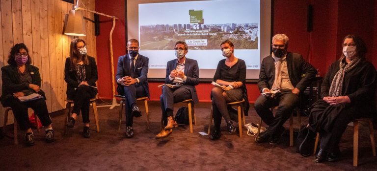 Départementales: la gauche défend son programme en Seine-Saint-Denis