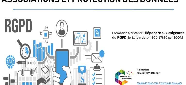 Formation en ligne associations : Répondre aux exigences du RGPD