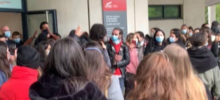 Upec Créteil : manifs contre les examens en présentiel