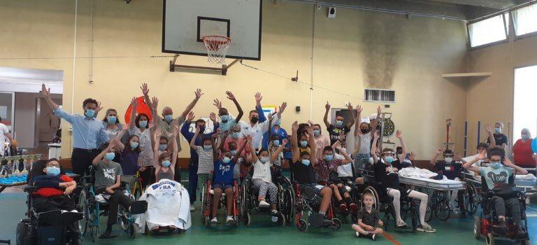 Villiers-sur-Marne: le centre de rééducation fait ses jeux olympiques