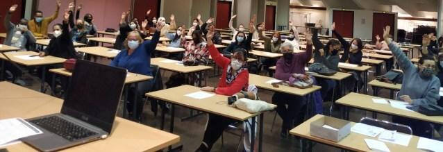 Val-de-Marne: les assistants d'élèves handicapés en grève contre leur statut précaire