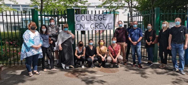 Rungis: au collège les Closeaux, les enseignants en grève contre leur direction