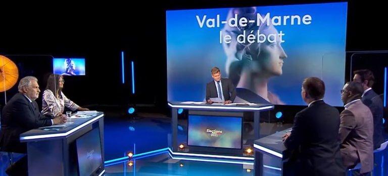 Départementales Val-de-Marne: retour sur le débat organisé par France 3