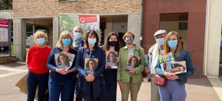 Régionales: Hélène de Comarmond défend la liste d'Audrey Pulvar en Val-de-Marne