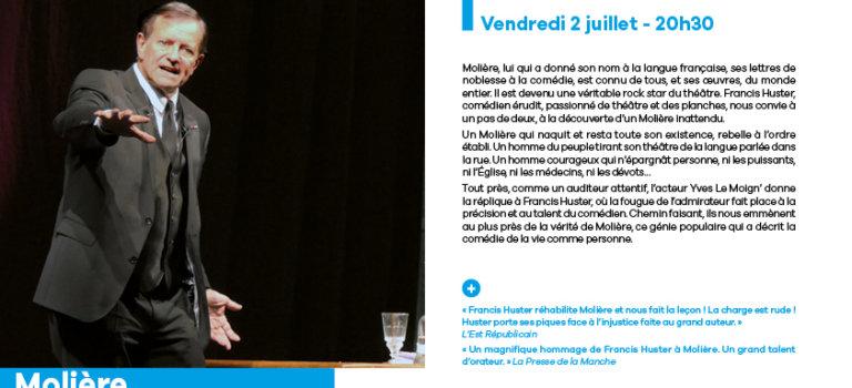 Molière avec Francis Huster à Bonneuil-sur-Marne