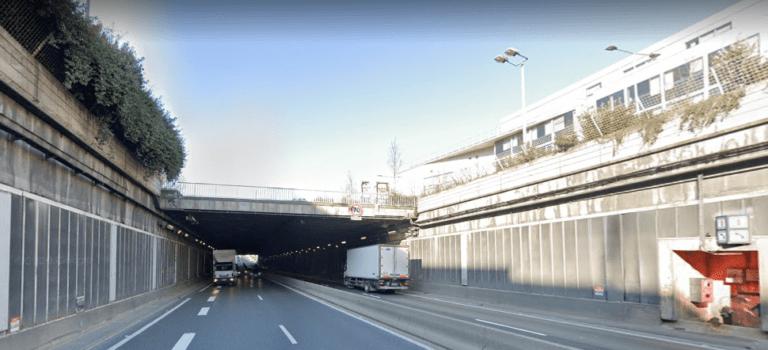 Fresnes: deux véhicules en feu dans un tunnel de l'A86