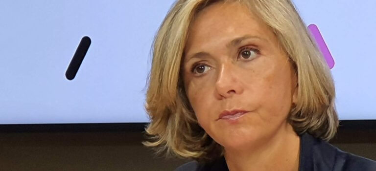 Régionales Ile-de-France: Valérie Pécresse présente son programme et son financement