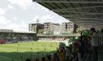 Saint-Ouen: le nouveau stade Bauer commence à sortir de terre