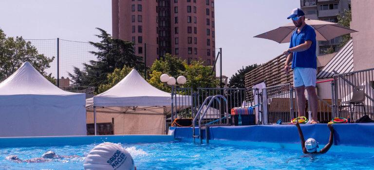 Opération savoir nager à Villetaneuse
