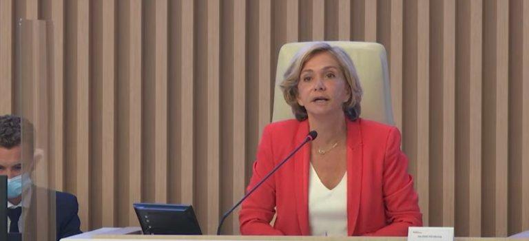 Réélue présidente d'Ile-de-France, Valérie Pécresse veut aller vite