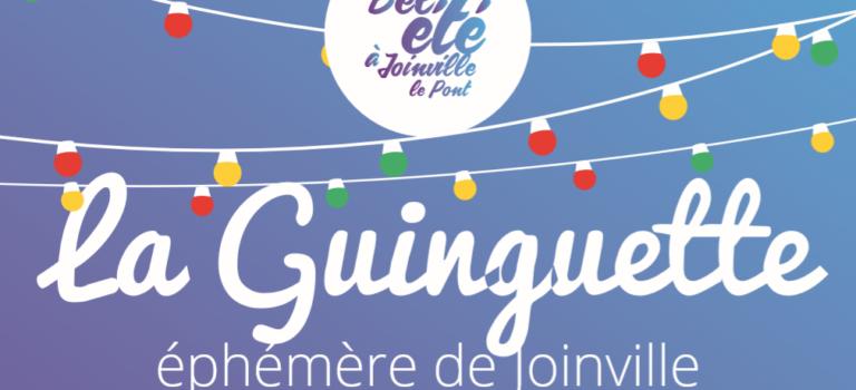 Guinguette éphémère à Joinville-le-Pont