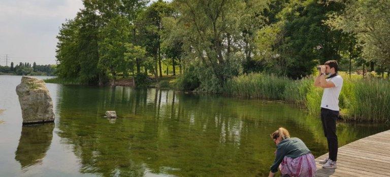 Histoire d'eau: balade nature au lac de Créteil