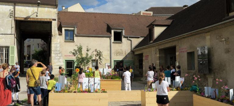 La culture fait le mur à la ferme de Cottinville: Journées du patrimoine à Fresnes