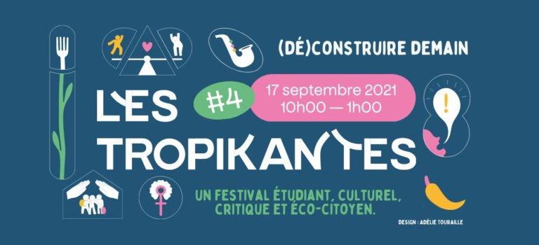 Les Tropikantes, festival étudiant, critique, musical et culturel à Nogent-sur-Marne