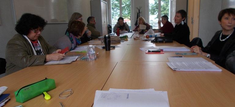 Atelier d'écriture de la Cie du Chercheur d'arbres avec l'écrivain Régis Moulu