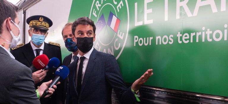 Ile-de-France: un train pour promouvoir la relance