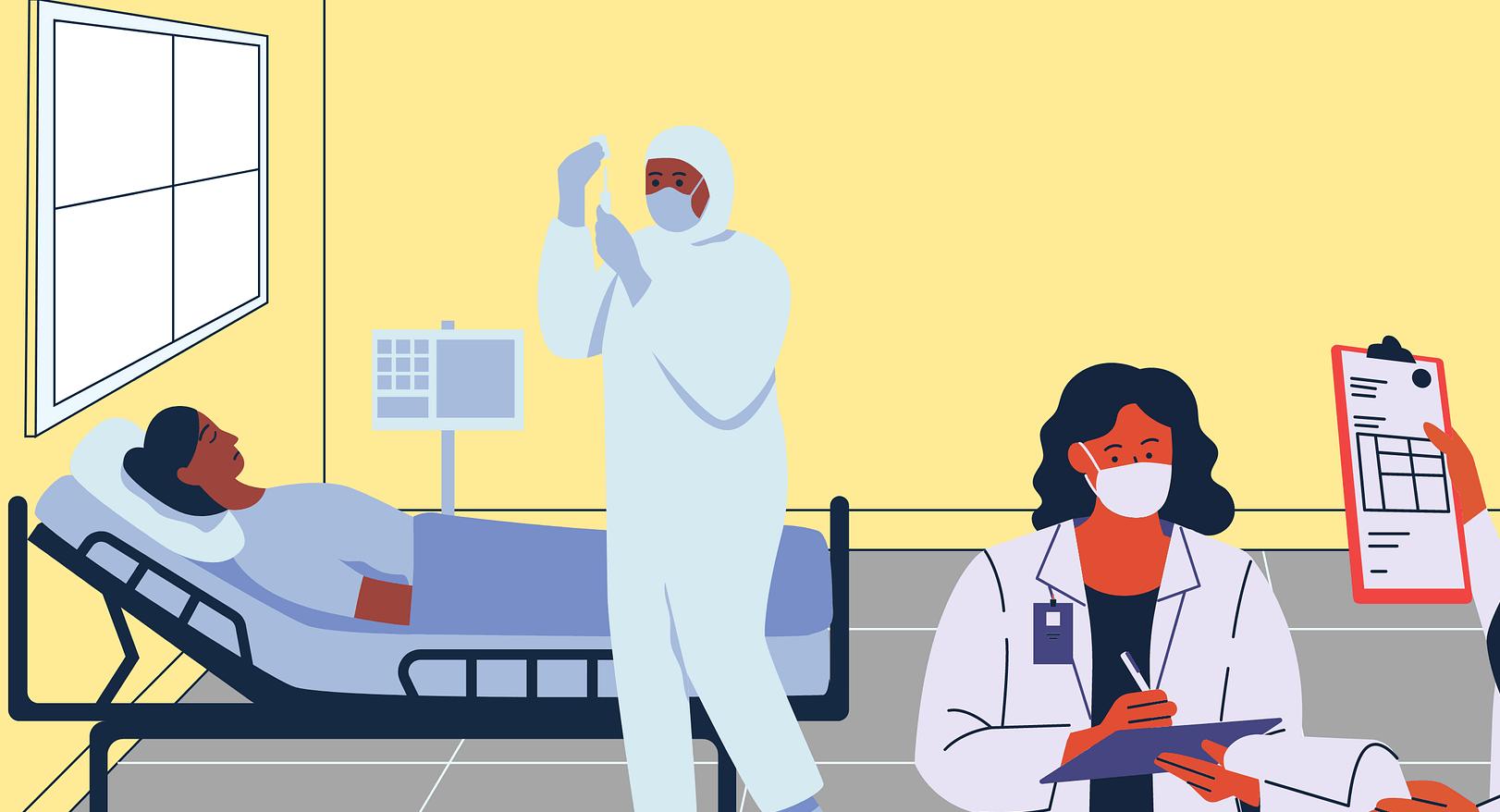 Coronavirus en Ile-de-France: nouvelle décrue hospitalière