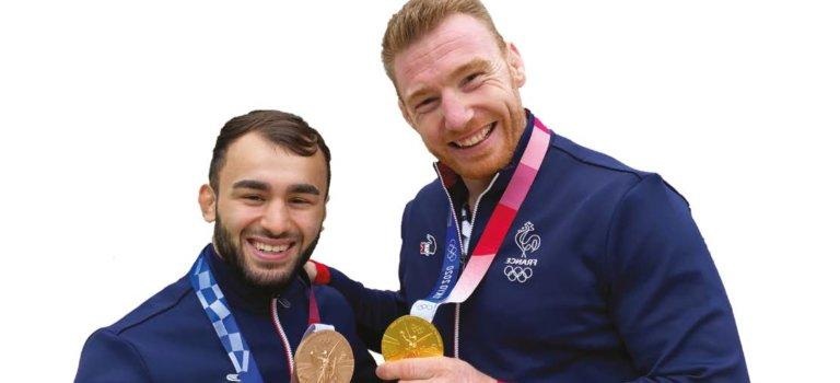 Triomphe aux médaillés olympiques à Sucy-en-Brie