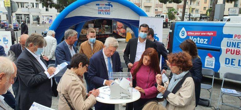 Régie publique de l'eau en Seine et Bièvre: votation et discussions pour boucler le divorce avec le Sedif