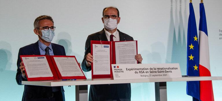 La Seine-Saint-Denis signe la renationalisation du RSA
