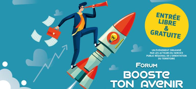 """Forum """"Booste ton avenir"""" à Créteil le 22 septembre"""