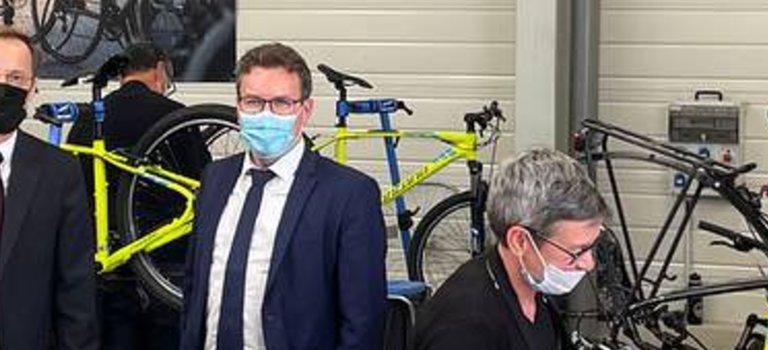 Le député Guillaume Gouffier-Cha missionné pour propulser le vélo made in France