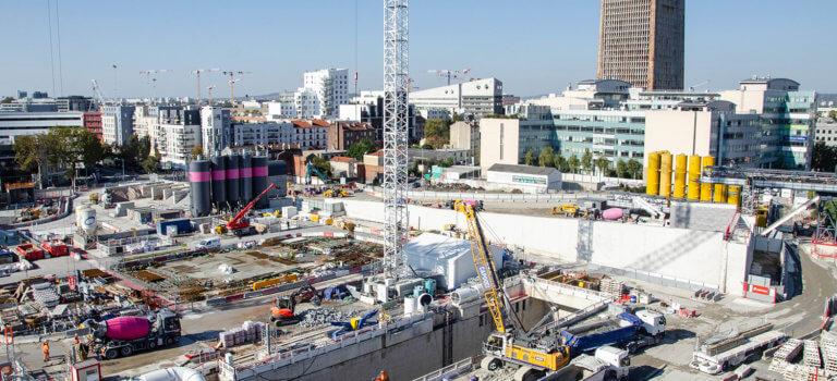 Le colossal chantier Grand Paris Express dope ses objectifs écologiques