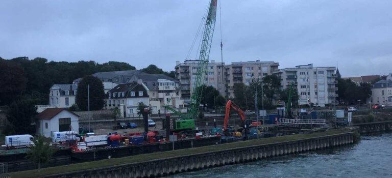 Ablon-sur-Seine : VNF rénove une écluse pour fluidifier le trafic fluvial